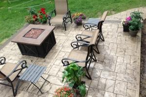 Deck view patio
