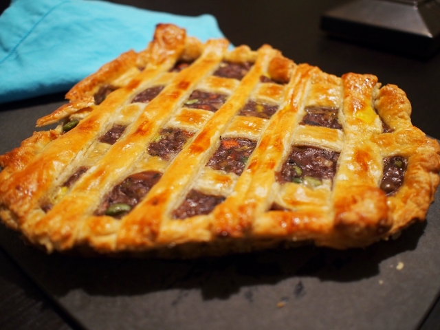 Pie side