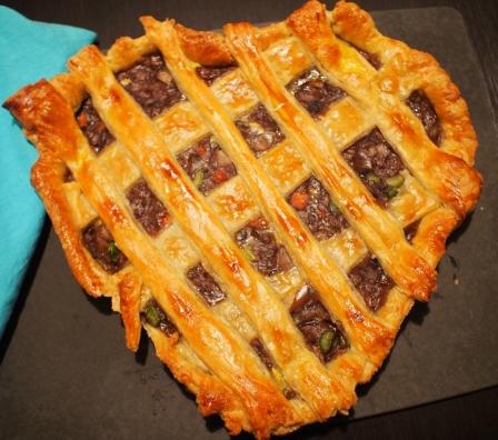 Heart Shaped Pot Pie