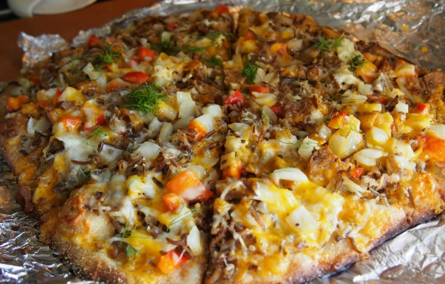 Wild Rice Pizza