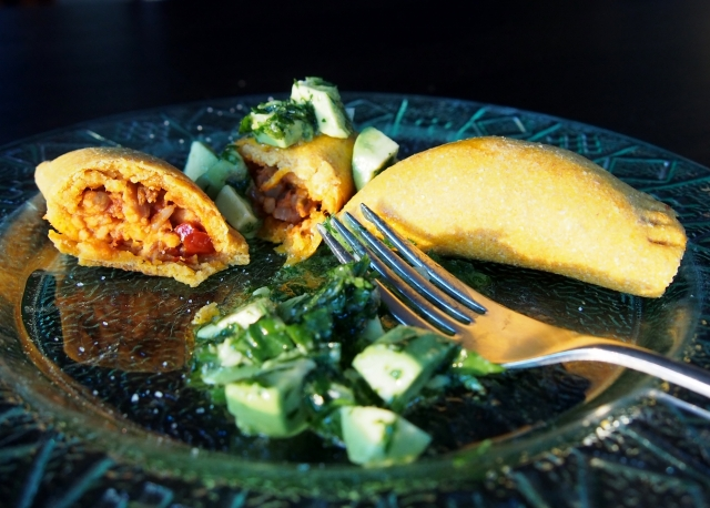 Empanadas and Chimichurri