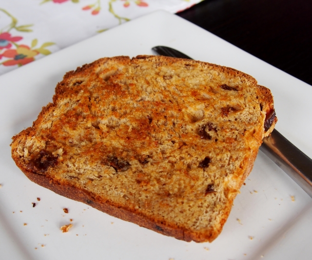 Raisin Bread Toast