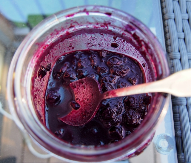 Smokey Blueberry Ketchup