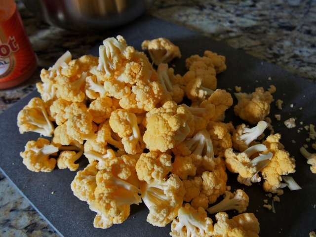 """Cheddar"" Cauliflower"